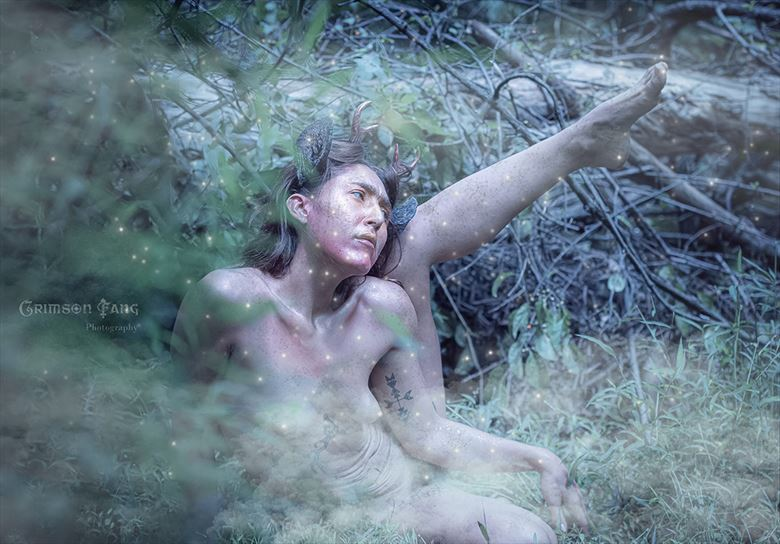 fawn 3 artistic nude artwork by photographer fayev