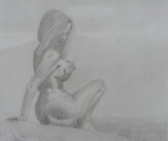 feel the silence artistic nude artwork by artist alexandros makris