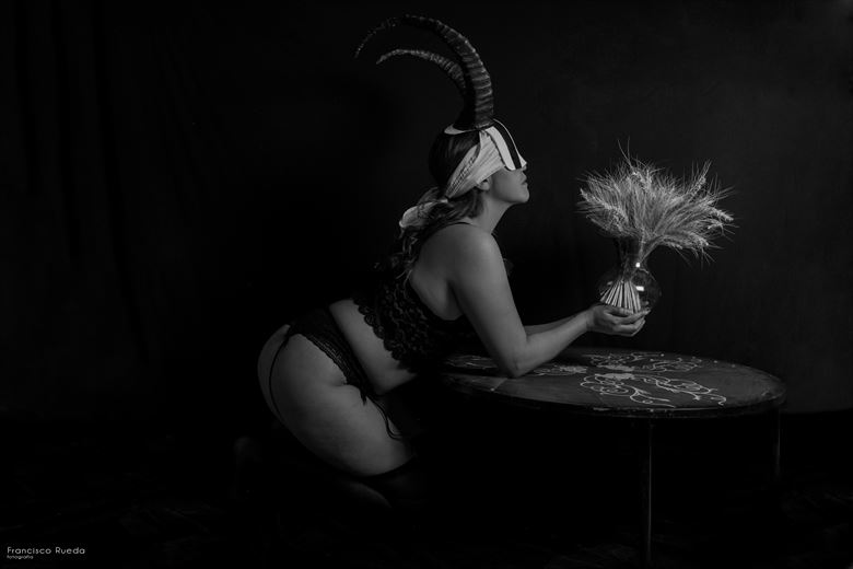 feel the weight of a martyr lingerie photo by photographer francisco rueda