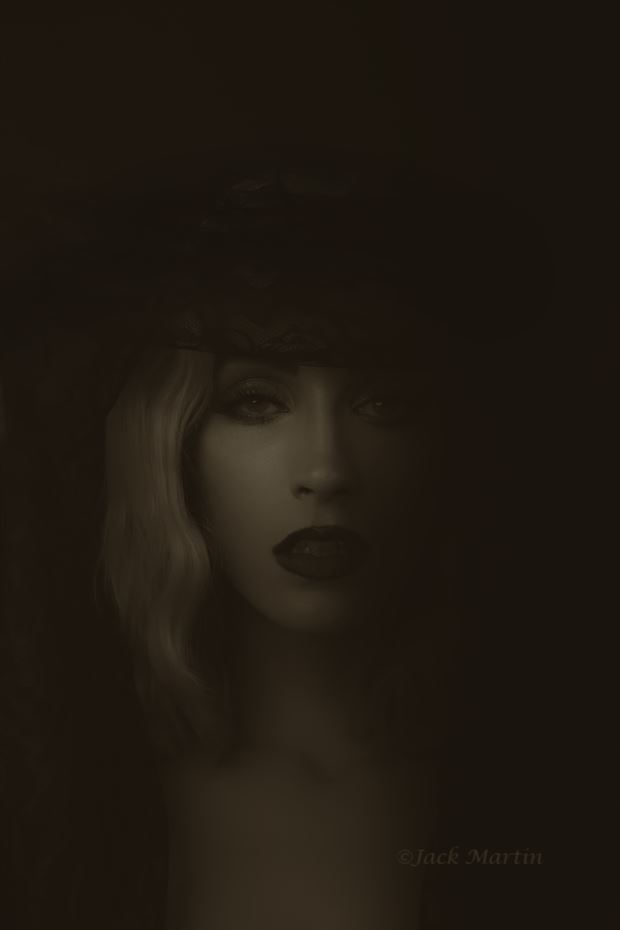 feeling dark close up photo by photographer jack martin