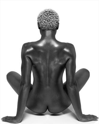 female buddha Artistic Nude Photo by Photographer Sylvie B