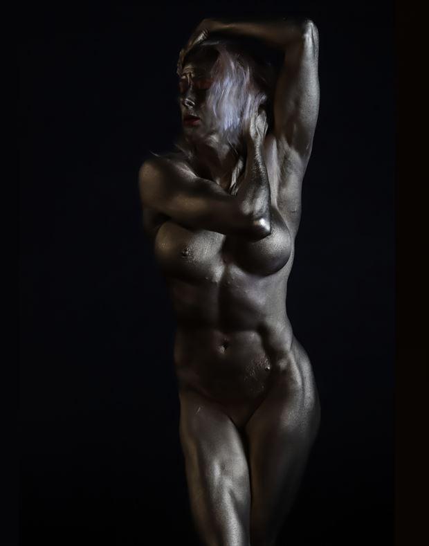 feminine strength artistic nude photo by photographer bill milward