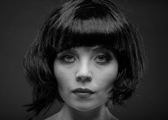 femme fatale studio lighting photo by photographer artytea