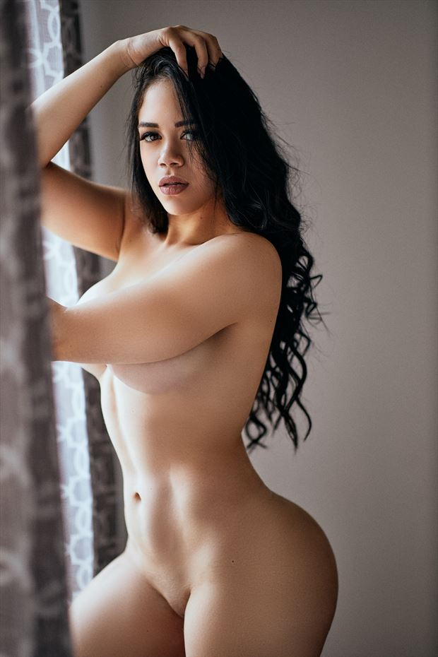 fer by the window artistic nude photo by photographer theprivatelens