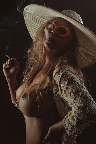 fetish sensual photo by model angela mathis