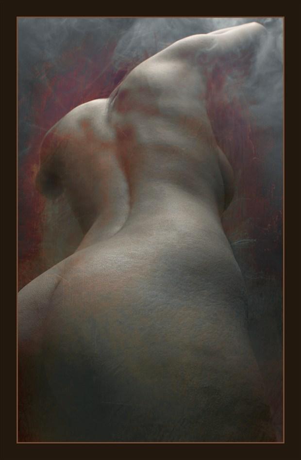 fire flesh Artistic Nude Artwork by Model Diana Revo