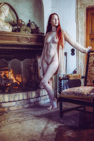fireplace vintage style photo by photographer jens schmidt