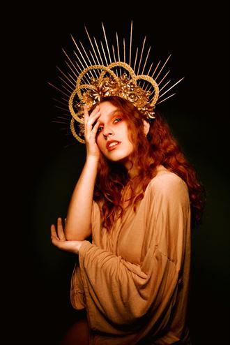 firey queen fantasy artwork by model kisa hues