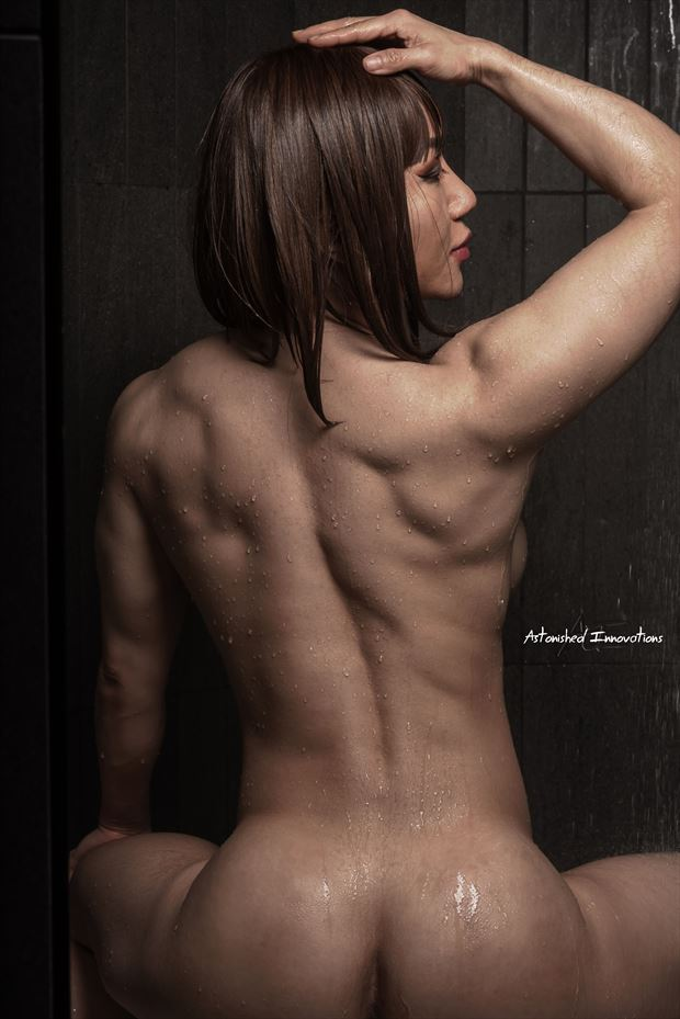 fitness artistic nude photo by photographer trezz johnson