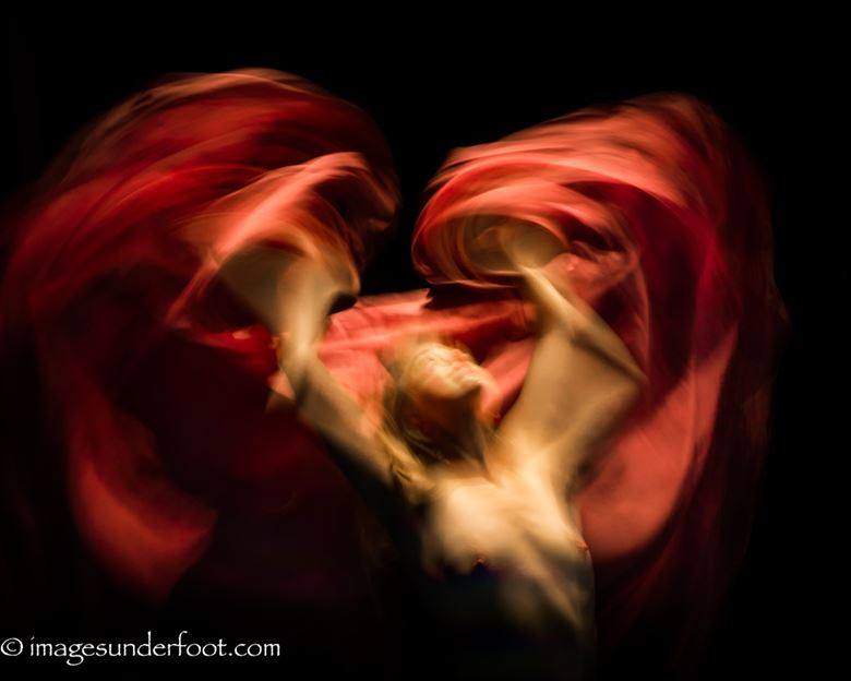 flames artistic nude photo by photographer gregory holden