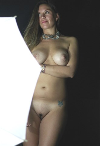 flash Artistic Nude Photo by Photographer lighting photography