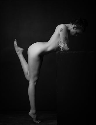flick artistic nude photo by model aurora red