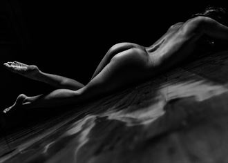 floor exercise artistic nude photo by photographer stephen wong