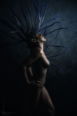 flying dreads artistic nude photo by photographer kestrel