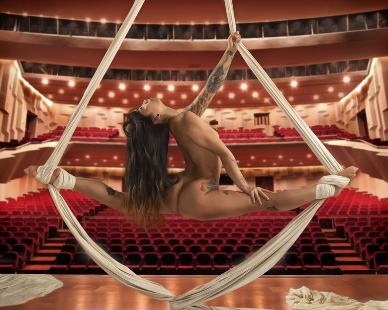 flying trapeze artistic nude photo by photographer legacyphotographyllc