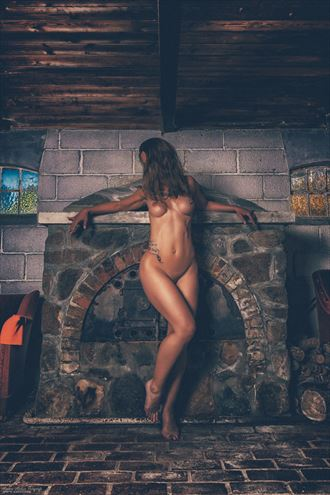 foco mantel artistic nude photo by photographer anders nielsen