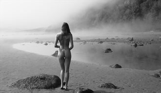 fog day artistic nude photo by photographer mike 256