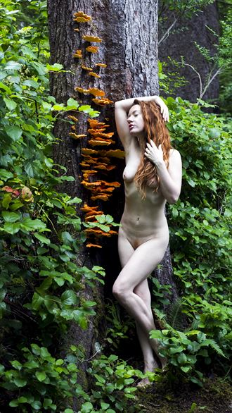 forest artistic nude photo by photographer eric lowenberg