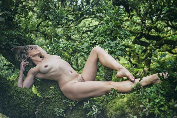 forest nymph artistic nude photo by model selkie