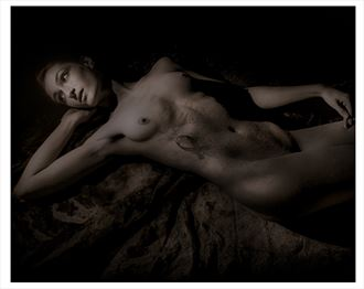 forgotten shadow artistic nude photo by model gabriella marsie