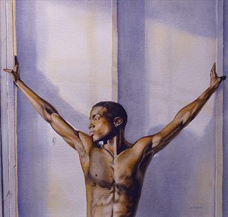 fortitude figure study artwork by artist dan simoneau artist