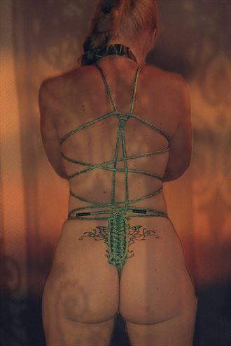 free artistic nude artwork by model catherine doidge