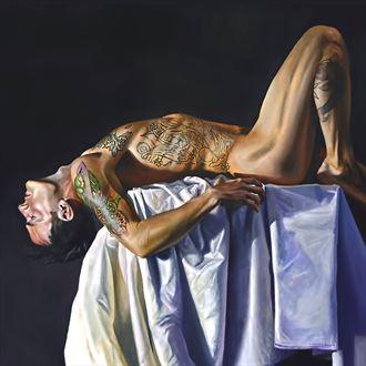 freedom lies in being bold artistic nude artwork by artist dan simoneau artist