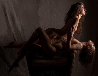 friendship makes its own light artistic nude photo by photographer gpstack
