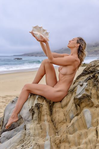 from the sea artistic nude photo by photographer philip turner