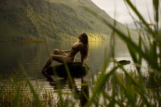 from within the reeds artistic nude photo by photographer mick egan