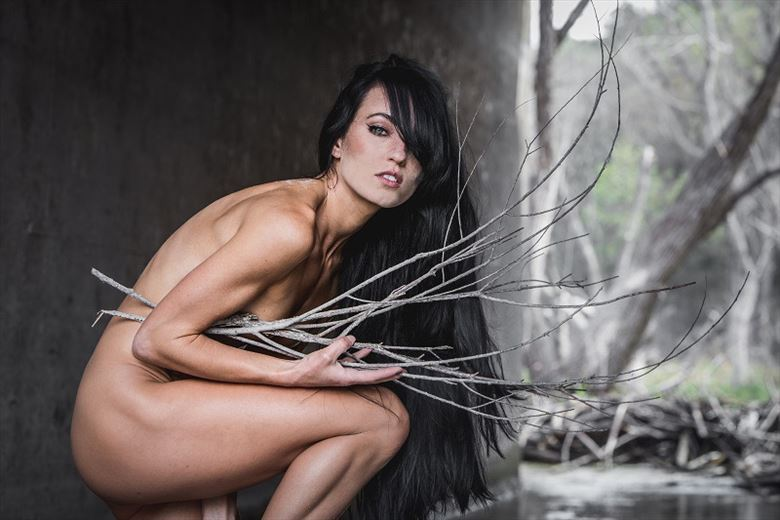 frost artistic nude photo by model jessa peters