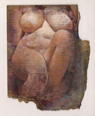 gabi artistic nude artwork by artist jond