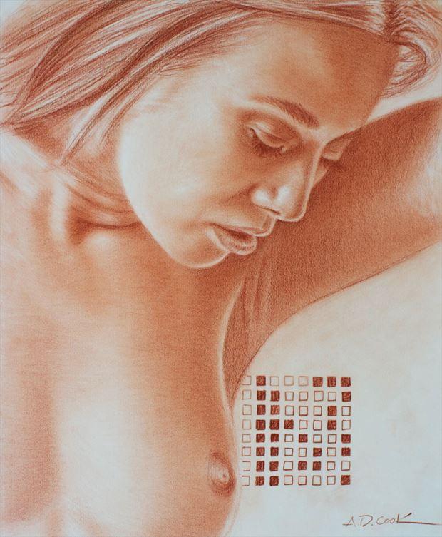 gabriela artistic nude artwork by artist a d cook