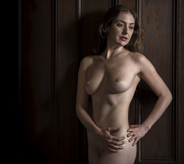 gabrielle in the mansion hall 2 artistic nude photo by photographer dlevans