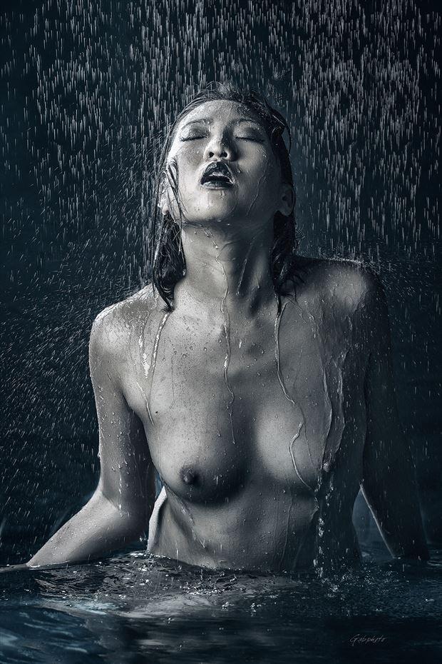 gaby saliba artistic nude photo by model minh ly