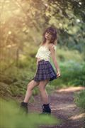 geek chic nature photo by model kitty dawson