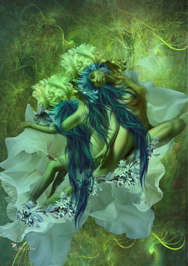 gemini 2021 fantasy artwork by artist digital desires