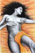 gentle awakening artistic nude artwork by artist subhankar biswas