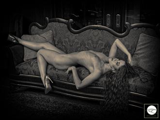 gentleman s study artistic nude photo by model cherisummers