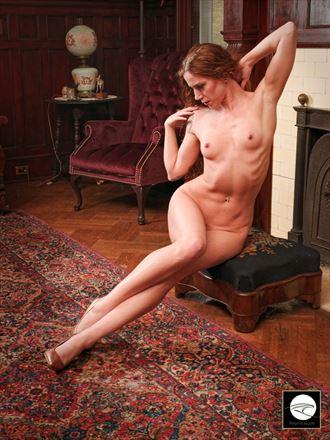 gentleman s study ii artistic nude photo by model cherisummers