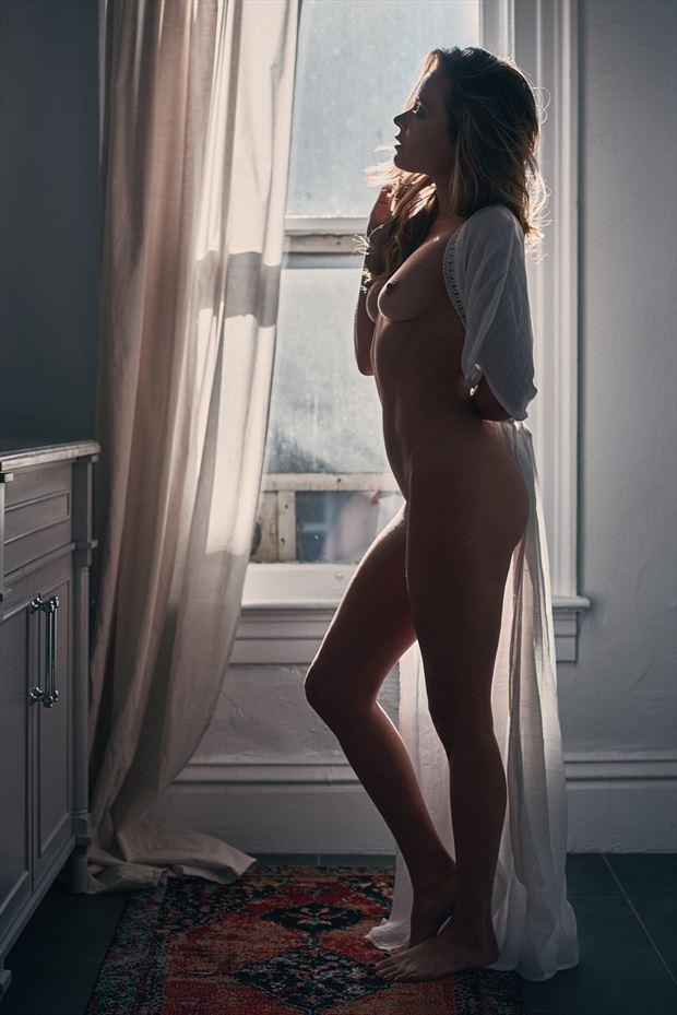 getting ready artistic nude photo by model missmissy