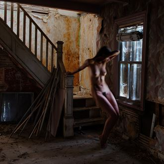 ghost afraid by the daylight artistic nude photo by photographer jyves