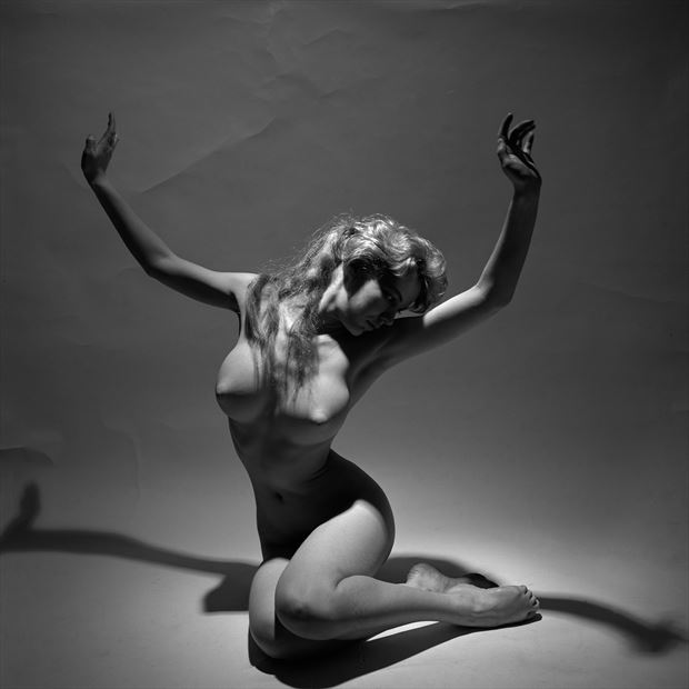 gina spotlight 1958 artistic nude photo by artist jean jacques andre