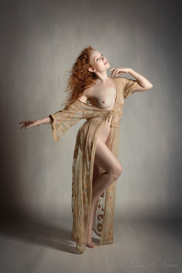 ginger lace artistic nude photo by photographer rascallyfox