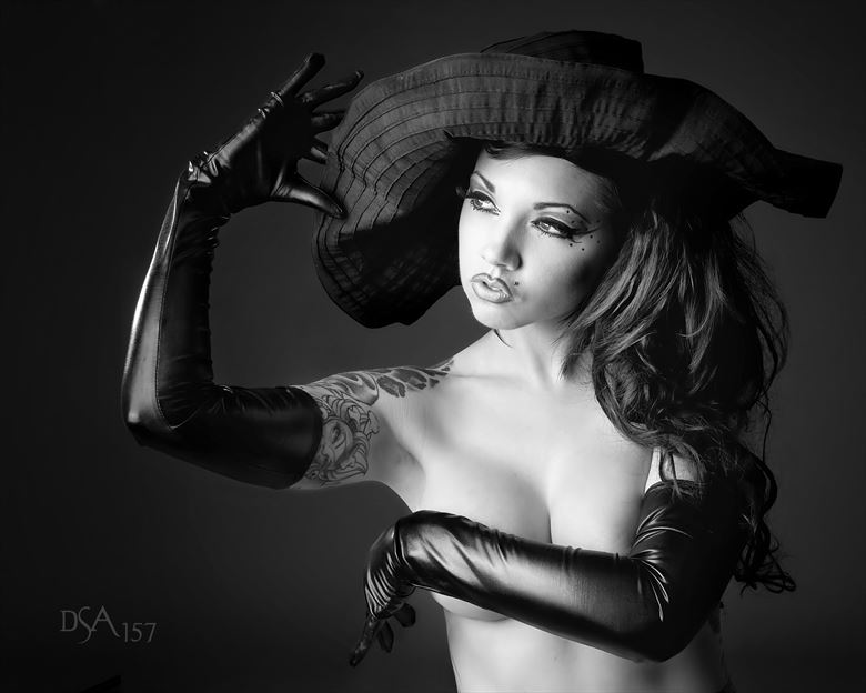 ginger zero black hat and gloves iii tattoos photo by photographer dsa157