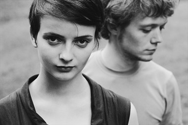 girl and boy Portrait Photo by Photographer Eugene Kukulka