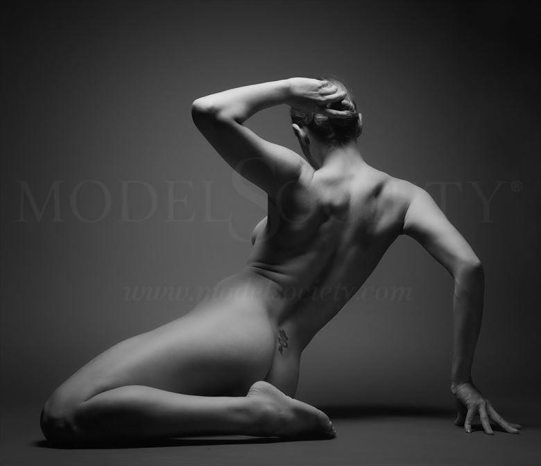girl artistic nude artwork by photographer richard byrne