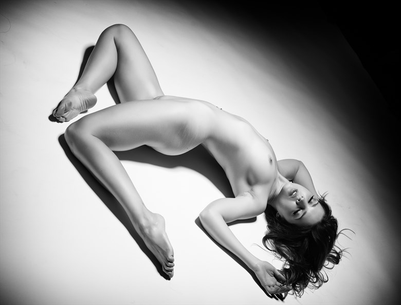 girl on the floor Artistic Nude Photo by Photographer KHolmes