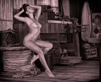 girl on the spool Artistic Nude Photo by Photographer KHolmes