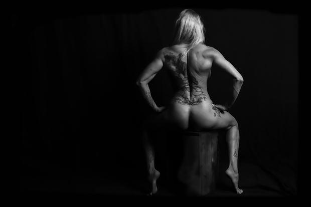 girl power artistic nude photo by photographer bill milward
